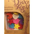 Dreamlights Lampion slinger Maan/ Hart/ Ster Multicolour