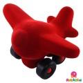 Vliegtuig Rood - Rubbabu